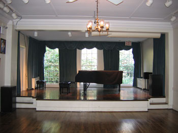 The Renee Weiler Concert Hall